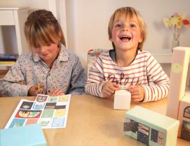 """(Papiergoed) """"Maak - 't - zelf - kaart"""" 'Papiergoeddorp'"""