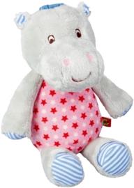 "(Spiegelburg) ""Babygeluk"" Muziekdoosje nijlpaard roze 'Hippo'"