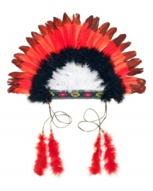 "(Souza for Kids) Rood - zwarte ""Indianentooi"""