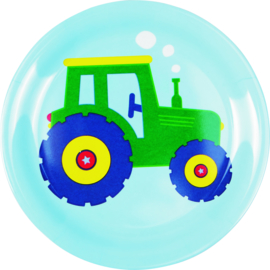 """(Spiegelburg) """"Later als ik groot ben..."""" Bordje 'Traktor'"""