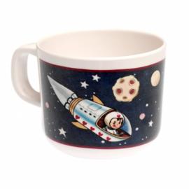 """(Dotcomgiftshop) """"Spaceboy"""" Drinkbeker met oor"""