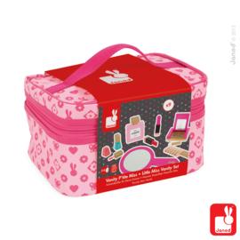 (Janod) Beautycase met 9 houten accessoires