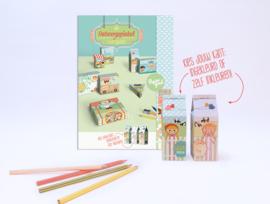 """(Papiergoed) DIY knutselpakket """"Ontwerpwinkel"""""""