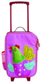 """(Dushi) Roze trolley Kippetje """"Chick"""""""