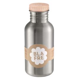 (Blafre) Lichtroze drinkfles RVS 500 ml.