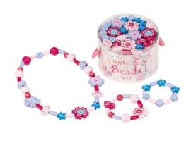 """(Souza for Kids) Maak je eigen ketting en armbandjes lila """"Kralen knutselset"""""""