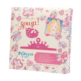 """(Souza for Kids) Maak je eigen kroontje """"Prinsessenkroon knutselset"""""""