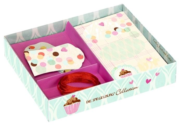 """(Spiegelburg) """"Cupcake"""" Set met etiketten en kaartjes"""