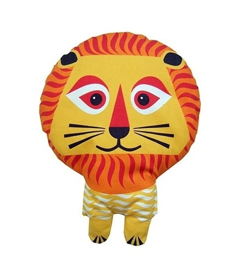 """(Mibo) Zelfmaak kussen van een theedoek """"Lion"""""""
