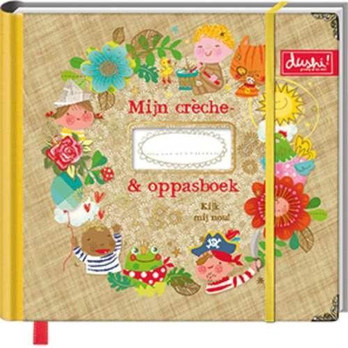 """(Dushi) Invulboek Mijn crèche- & oppasboek """"Kijk mij nou"""""""