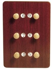 Scorebord hout 209022