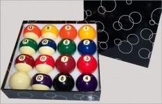 Universele poolballen economy 57,2 mm  184150