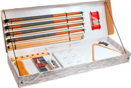 Poolbiljarten accessoires set Aramith Standaard 2557.060