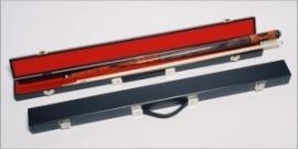 Koffer 2 vaks economy zwartvo385099