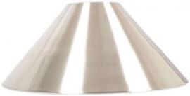 LOSSE KAP Geborsteld aluminium  3274.156