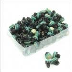 Schroefpomeransen 12mm. 100stuks plastic draad  249800