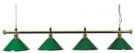 LAMP MET 4 GROENE KAPJES 145CM  3274.050