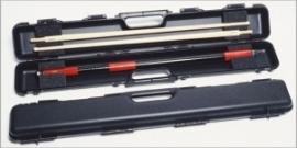 Koffer Longoni shuttle plastic zwart  385009