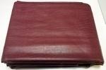 Afdekzeil met rug voor 115x230 burgundy  207920