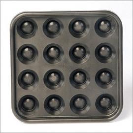 Ballen-plateaux voor 16 poolballen 204801