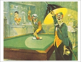Poster `Clown` Bernard Leemker  465000