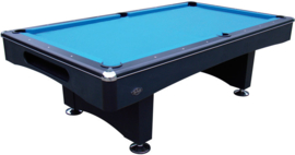 Poolbiljart Eliminator II pooltafel 6ft zwart