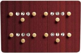 Scorebord hout  3174.000