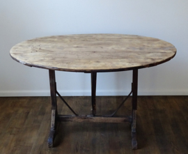 Antique French vigneron table