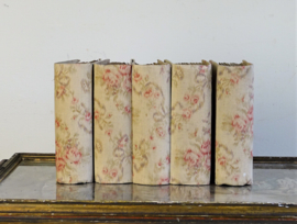 Old French fabric books
