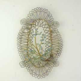 Antiek Frans kralenornament