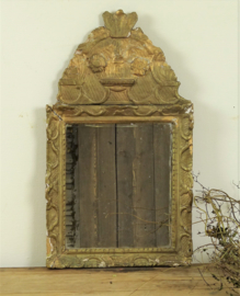 Antique French bridal mirror