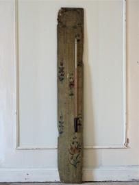 Handpainted thermometer