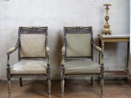 19e eeuwse Franse armstoel (empire periode)