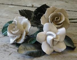 Porseleinen rozen