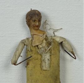 Shabby doll with wax head
