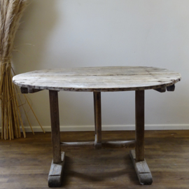Antique French wine table