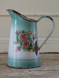 Enamel milk jug