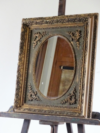 Mirror in antique French frame