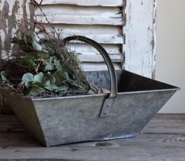 Zinc picking basket