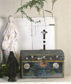 Antique French bridal chest