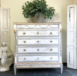 Antique French Empire chest of drawers