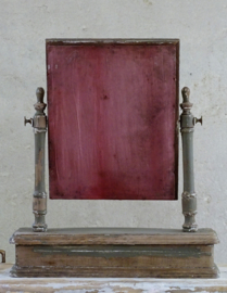 Old dressing table mirror