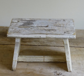 Old wooden step / stool
