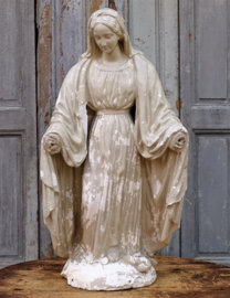 Large statue of Mary