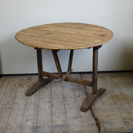 Antique French 'vendage'  table
