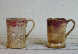 Weathered mugs