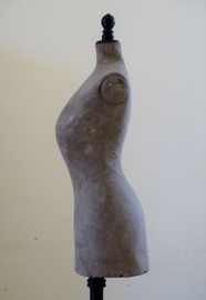 Antique pigeon breast mannequin