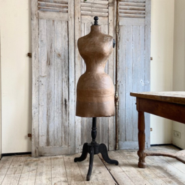 Antique French WaspWaist dressform
