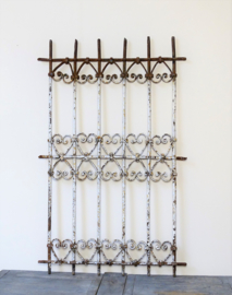 French cast-iron grille