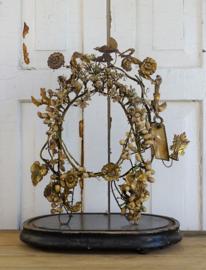 Wassen kroon op bruidsstoeltje